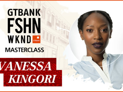 GTBank Fashion Weekend 2017 – Masterclass by Vanessa Kingori MBE